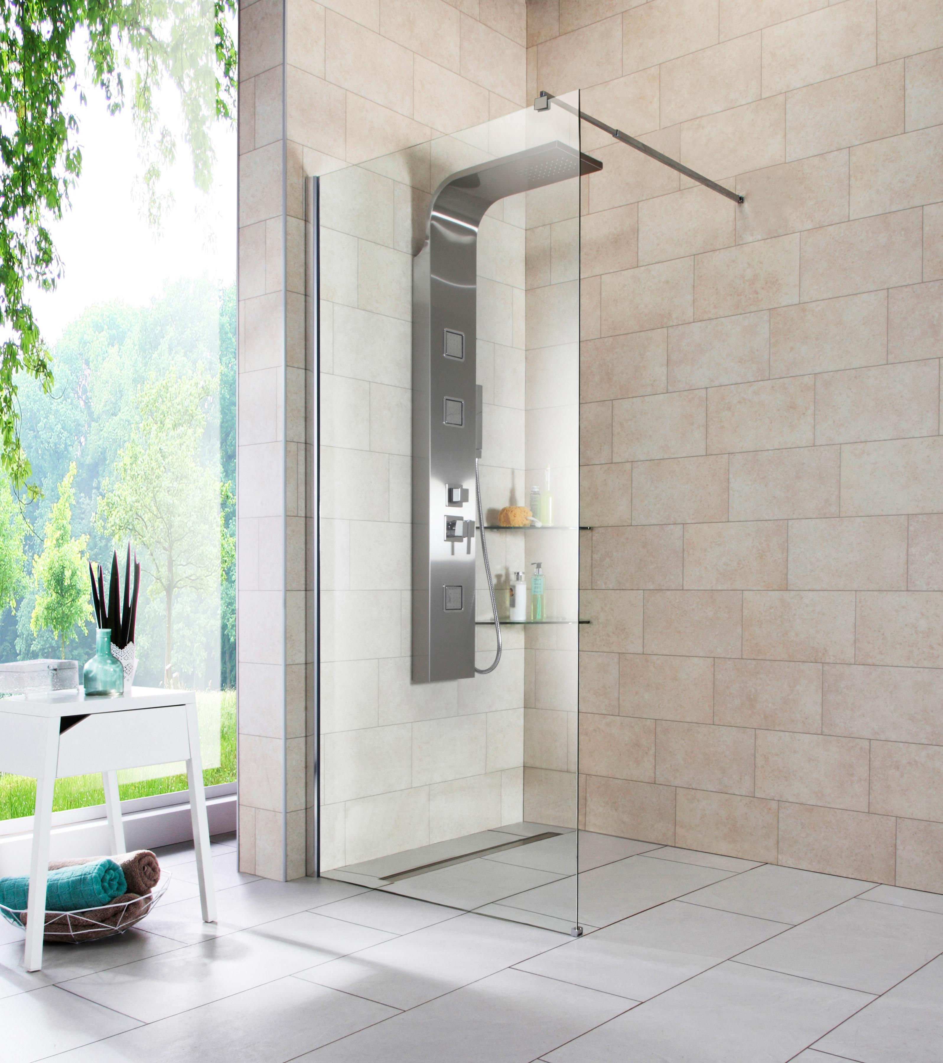 Walk-In Dusche »Duschabtrennung«, Breite 90 cm online kaufen | BAUR