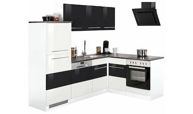 Winkelküche »Trient«, mit E - Geräten, Stellbreite 230 x 170 cm kaufen