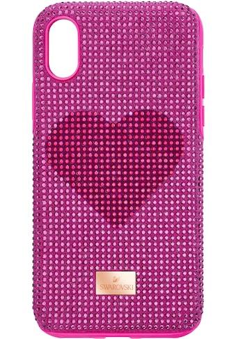 Swarovski Smartphone - Hülle »Crystalgram Heart Smartphone Schutzhülle mit integriertem Stoßschutz, iPhone® XS Max, rosa, 5540720« kaufen