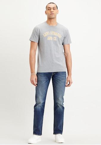 Levi's® T-Shirt, mit gebrochenem Logo-Print kaufen