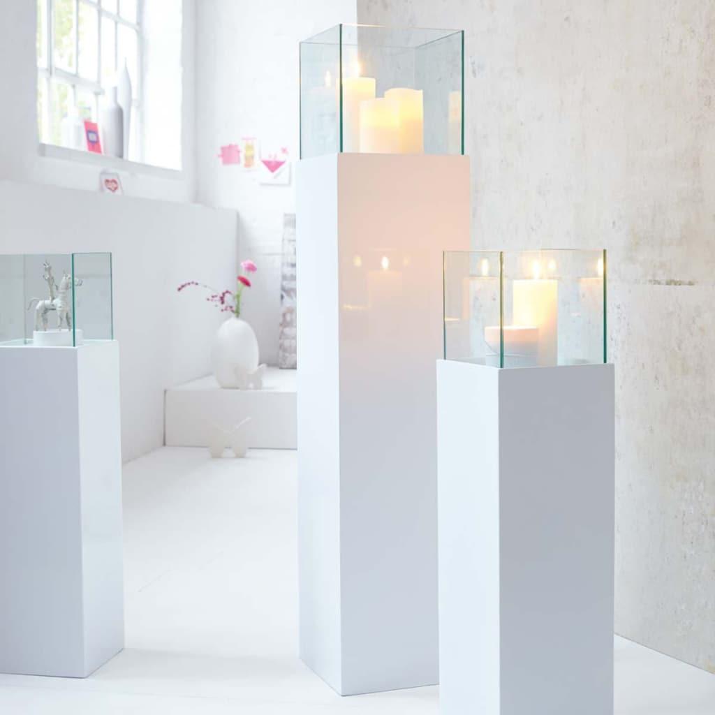 Bodenwindlicht »Glossy«, aus Kunststoff, Aluminium und Glas