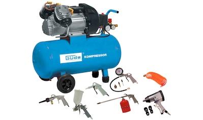 GÜDE Kompressor »Set 400/10/50 DG«, 15 - tgl. kaufen