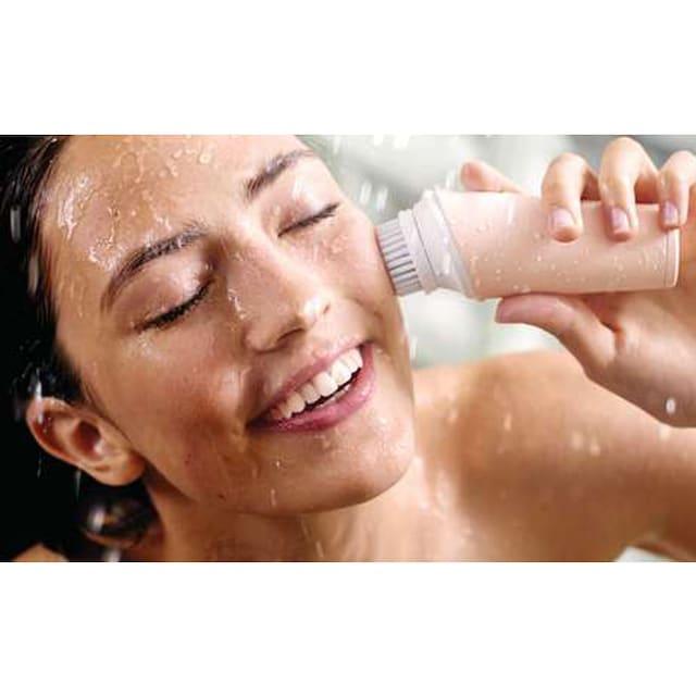 """Philips Elektrische Gesichtsreinigungsbürste """"BSC111/06"""", Set 2-tlg., inkl. Bürstenkopf für normale Haut"""