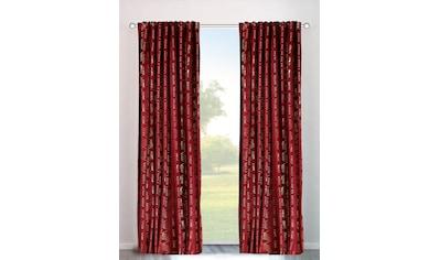 my home Vorhang »Velvet Foil«, Samt kaufen