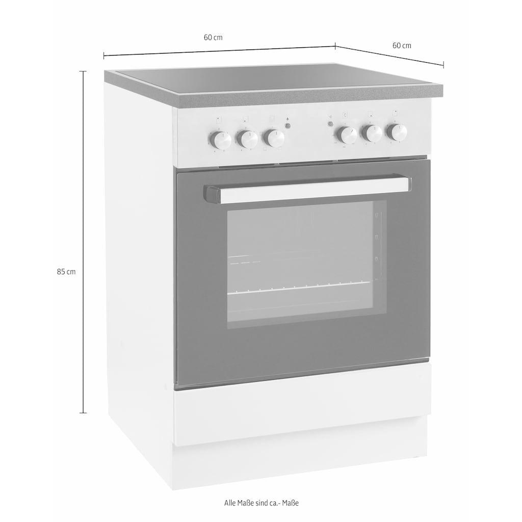 wiho Küchen Herdumbauschrank »Amrum«, 60 cm breit