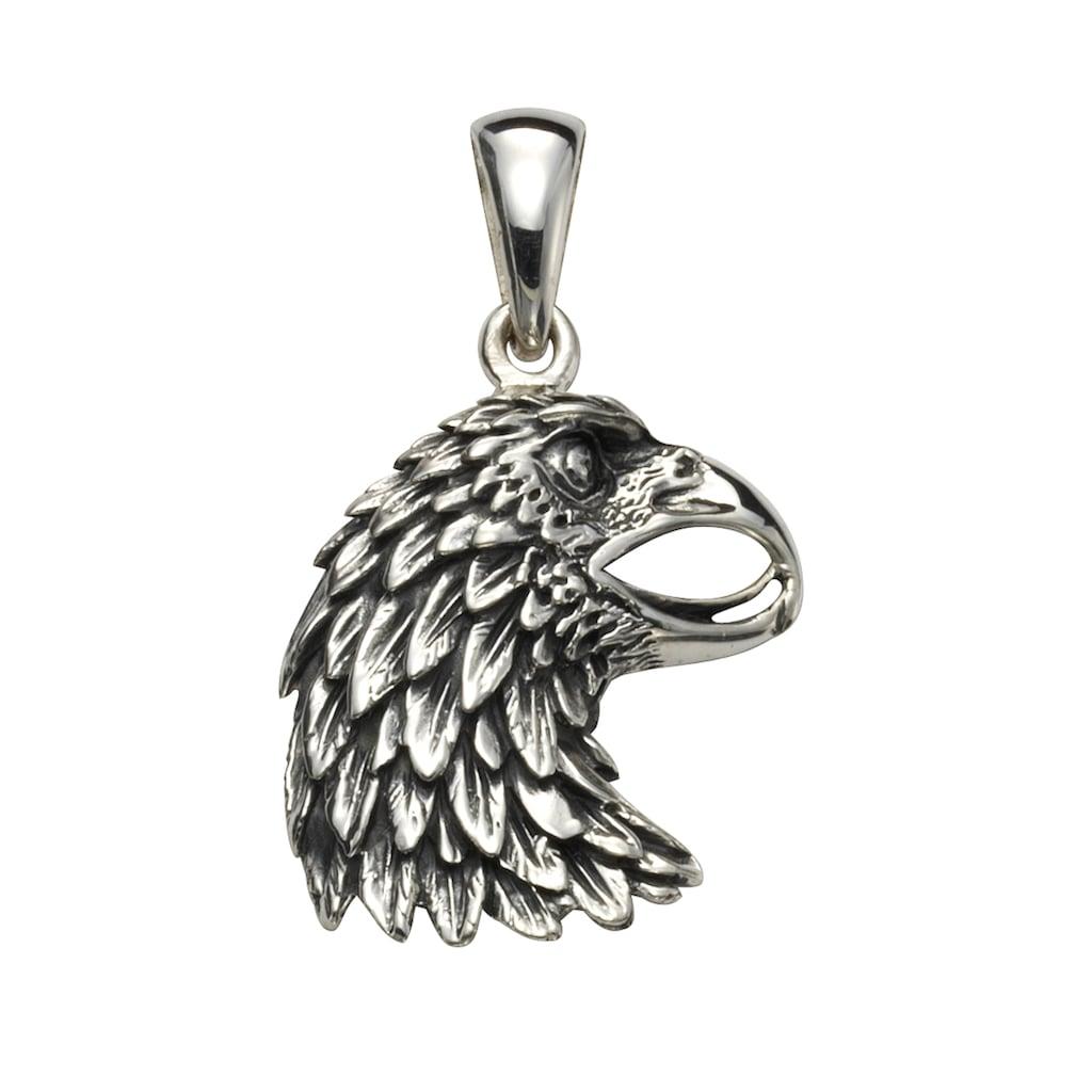 Vivance Kettenanhänger »925/- Sterling Silber oxydiert Adler«, Anhänger