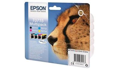Epson »T0715 Original Kombi - Pack (C13T07154012)« Tintenpatrone kaufen