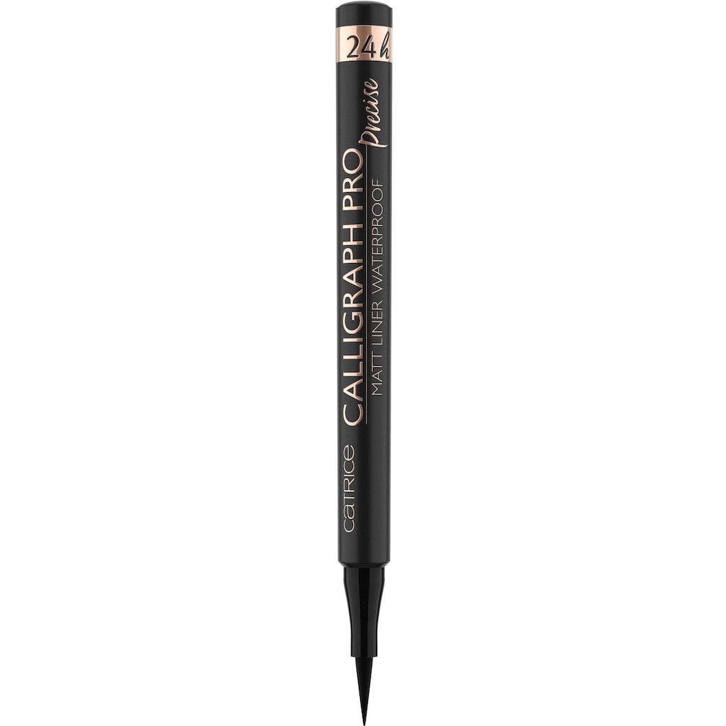 Catrice Eyeliner »Calligraph Pro Precise 24h Matt Liner Waterproof«, (Set, 5 tlg.)