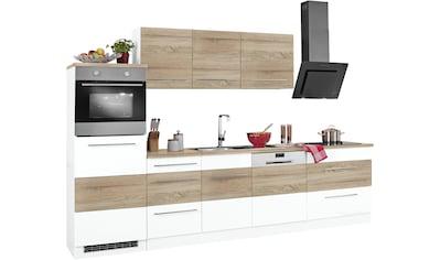 HELD MÖBEL Küchenzeile »Trient«, mit E-Geräten, Breite 300 cm mit Stangengriffen aus... kaufen