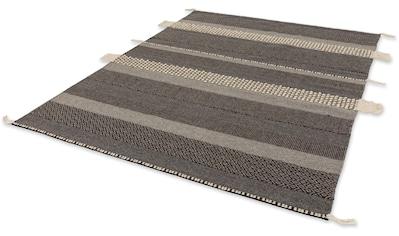 SCHÖNER WOHNEN-Kollektion Wollteppich »Botana«, rechteckig, 15 mm Höhe, reine Wolle, Wohnzimmer kaufen
