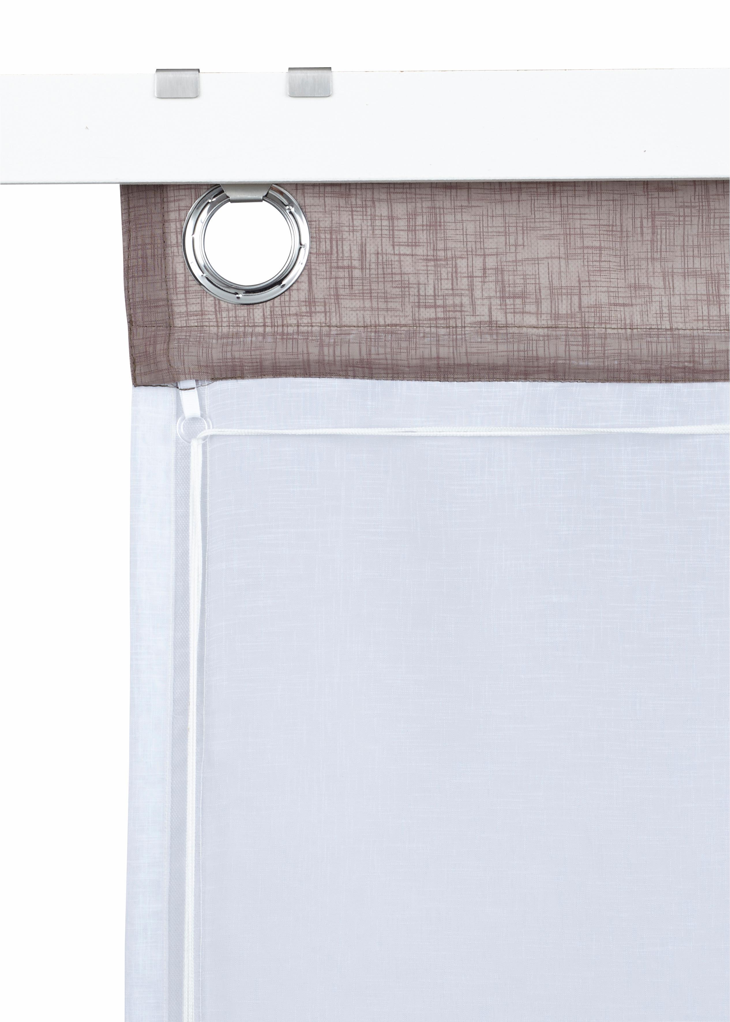 raffrollo kreta mit hakenaufh ngung ohne bohren haken my. Black Bedroom Furniture Sets. Home Design Ideas