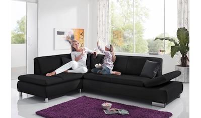 Max Winzer® Ecksofa »Toulouse«, mit klappbaren Armlehnen, Breite 237 cm kaufen