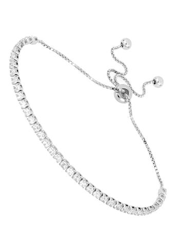 Firetti Tennisarmband »schlicht und mit eingefasstem Zwischenelement,... kaufen