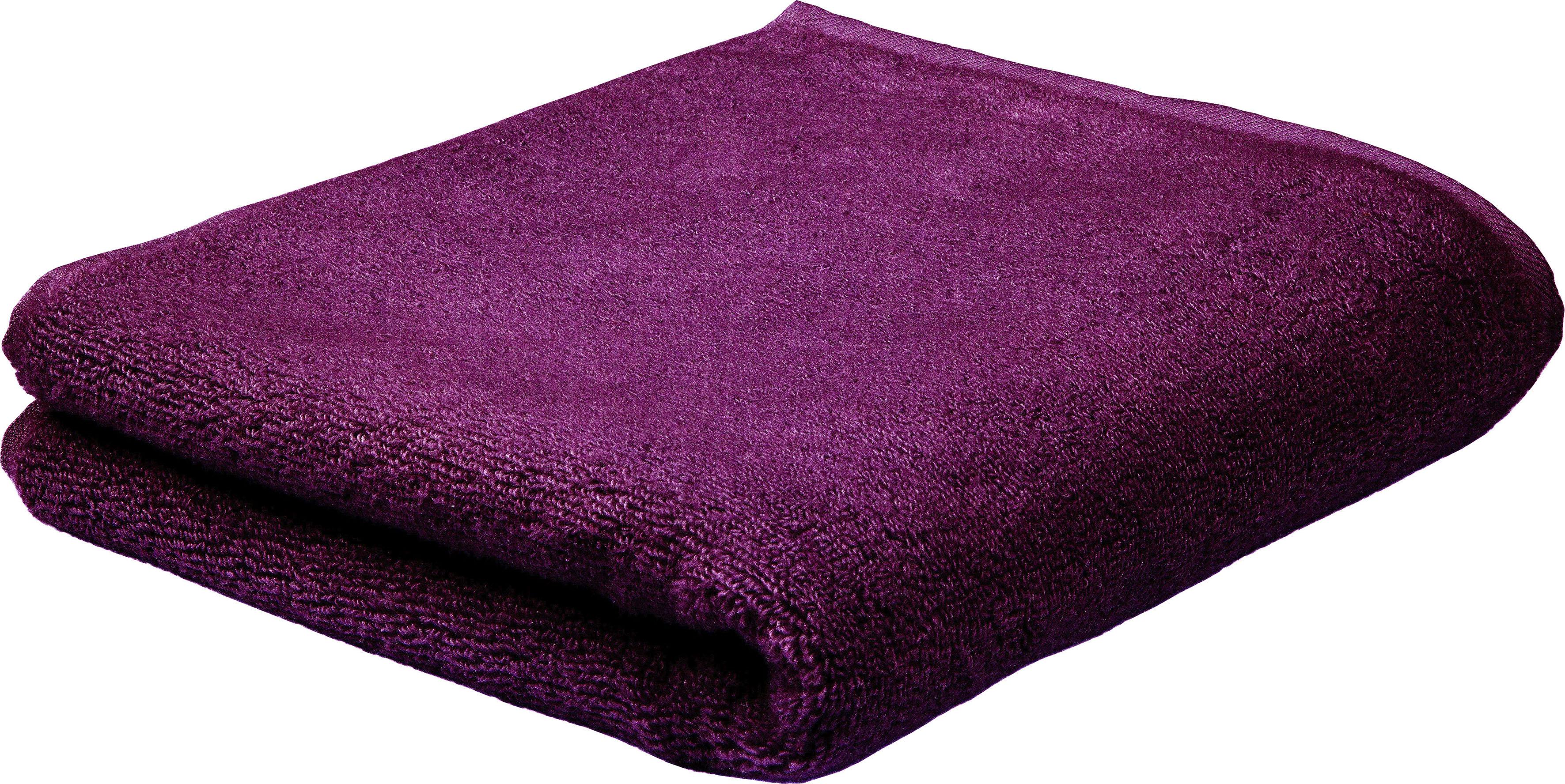 ROSS Handtuch Sensual Skin, (2 St.), mit Aloe Vera veredelt lila Handtücher Badetücher
