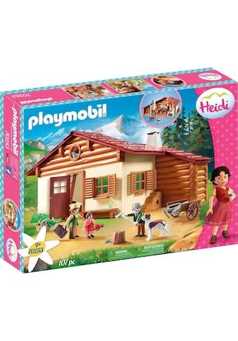 Playmobil® Konstruktions-Spielset »Heidi und Großvater auf der Almhütte (70253), Heidi«, ; Made in Germany kaufen