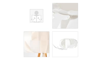 Brilliant Leuchten Stehlampe, E27, Addi Standleuchte, dreibeinig holz hell/weiß kaufen