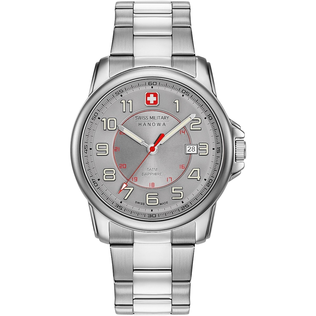 Swiss Military Hanowa Schweizer Uhr »SWISS GRENADIER, 06-5330.04.009«