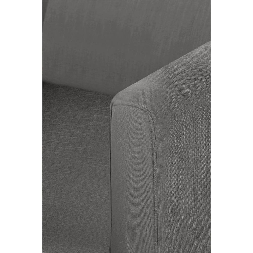 Fink Armlehnstuhl »DAVID«, mit geschwungener Rückenlehne