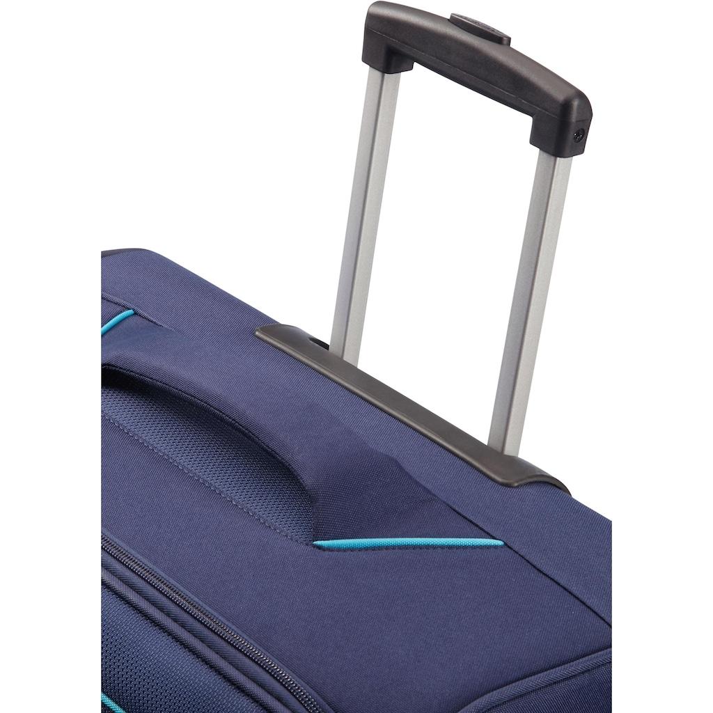 American Tourister® Weichgepäck-Trolley »Holiday Heat, 67 cm, navy«, 4 Rollen