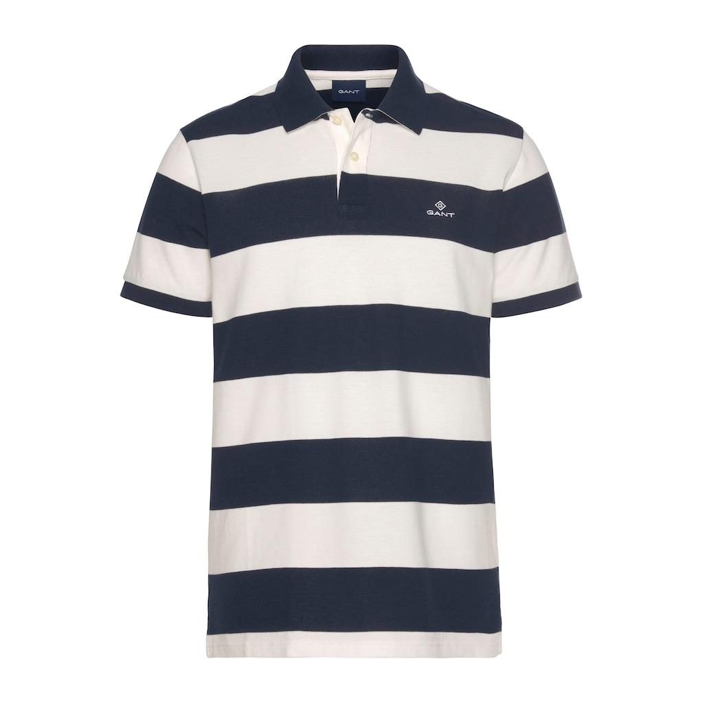 Gant Poloshirt »BARSTRIPE PIQUE RUGGER«