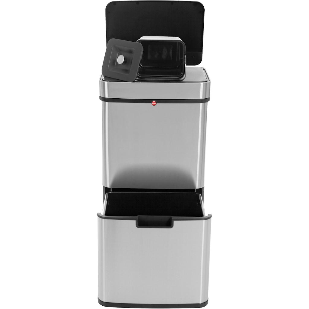 Hailo Mülltrennsystem »Stand AFS Öko Vario XL«, Sensor-Deckelöffnung