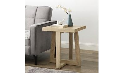 andas Beistelltisch »Sloan«, mit einem besonderen Beingestell, mit einer schönen Holzoptik Tischplatte, Design by Morten Georgsen kaufen