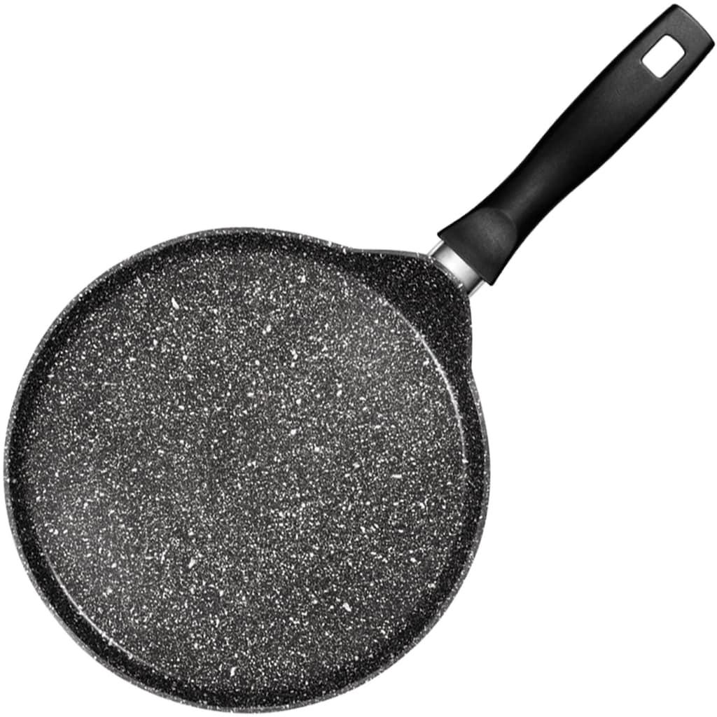 STONELINE Crêpepfanne, Aluminiumguss, Ø 25 cm, Induktion, mit Teigverteiler