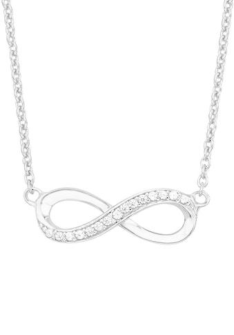 s.Oliver Silberkette »Infinity/Unendlichkeit, 2012527«, mit Zirkonia kaufen