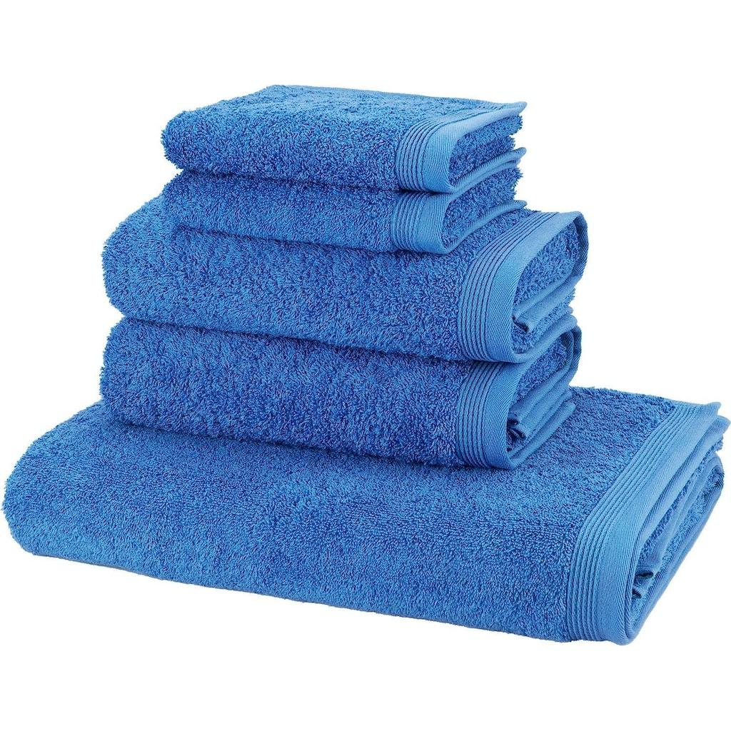 Möve Handtuch Set »Basic«, in hochwertigster Walkfrottier Qualität