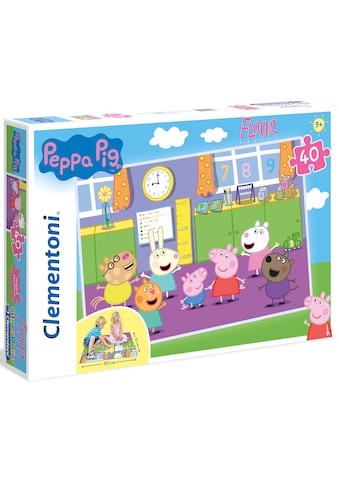 Clementoni® Puzzle »Bodenpuzzle - Peppa Pig«, Made in Europe kaufen