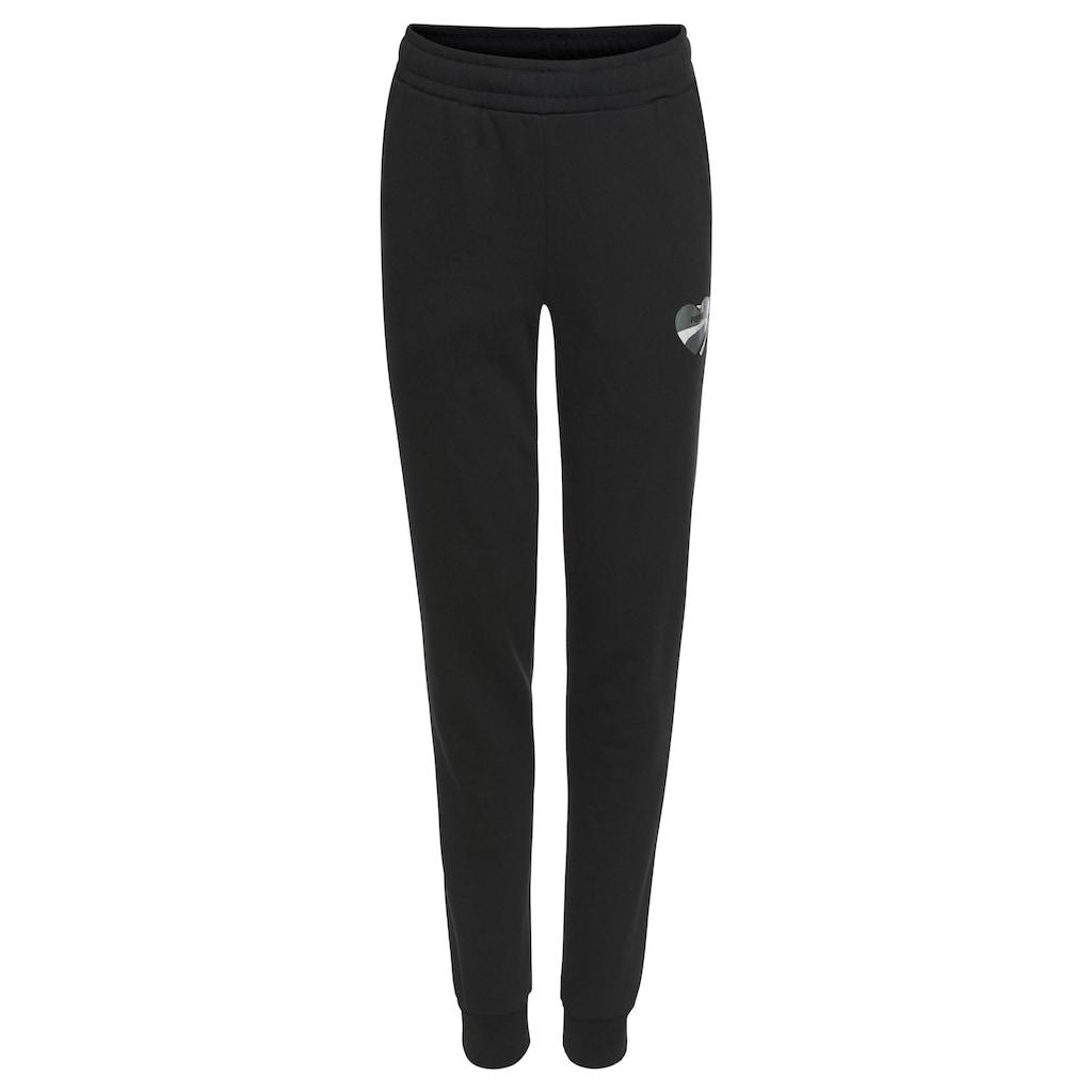 PUMA Jogginghose »ALPHA SWEATPANTS FLEECE GIRLS«