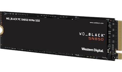WD_Black interne SSD »SN850«, ohne Kühlkörper kaufen