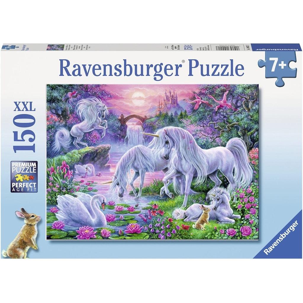"Ravensburger Puzzle ""Einhörner im Abendrot"""