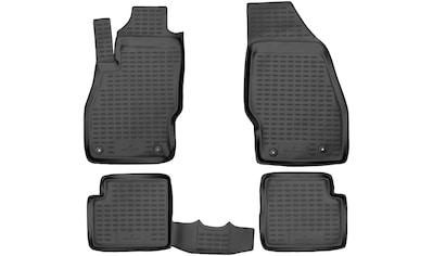 WALSER Passform-Fußmatten »XTR«, Opel, Corsa, Schrägheck, (4 St., 2 Vordermatten, 2... kaufen