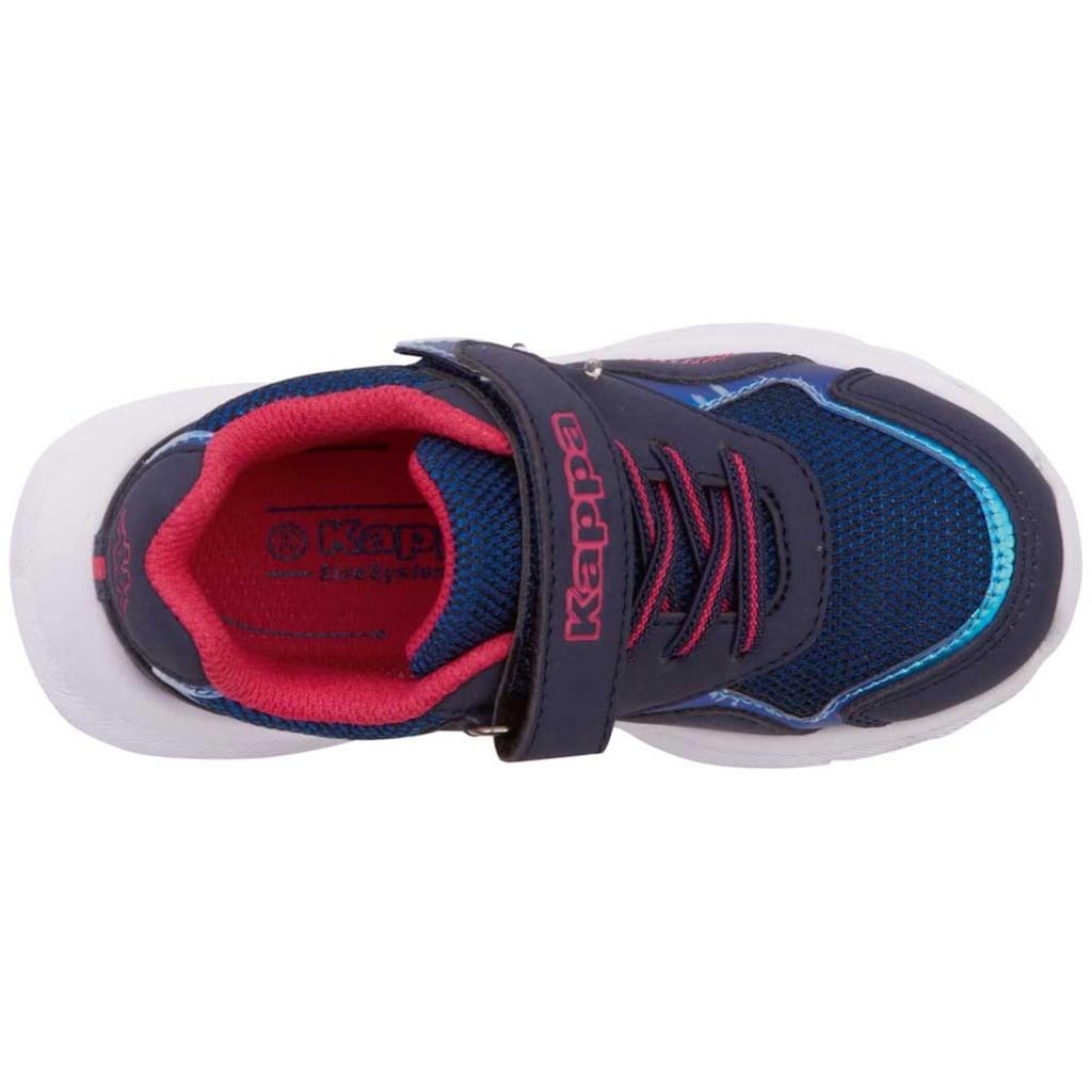 Kappa Sneaker »BESS K«, mit cooler Blinkfunktion<br />