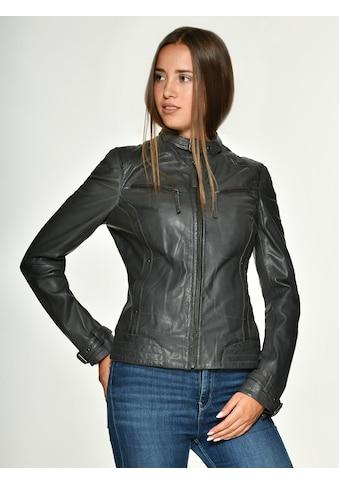 MUSTANG Lederjacke »Ryana«, trendig kaufen