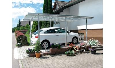 Beckmann Einzelcarport, Aluminium, 270 cm, natur, versch. Farben kaufen