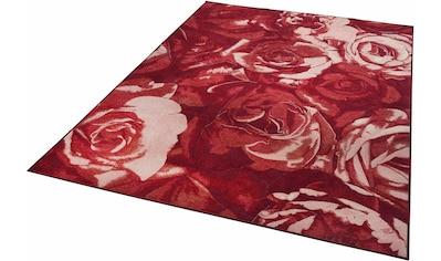 Teppich, »Flomi Rose«, THEKO, rechteckig, Höhe 4 mm, maschinell gewebt kaufen