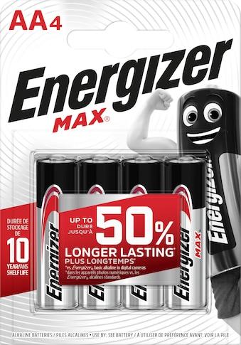 Energizer Batterie »Max Mignon (AA) 4 Stück« kaufen