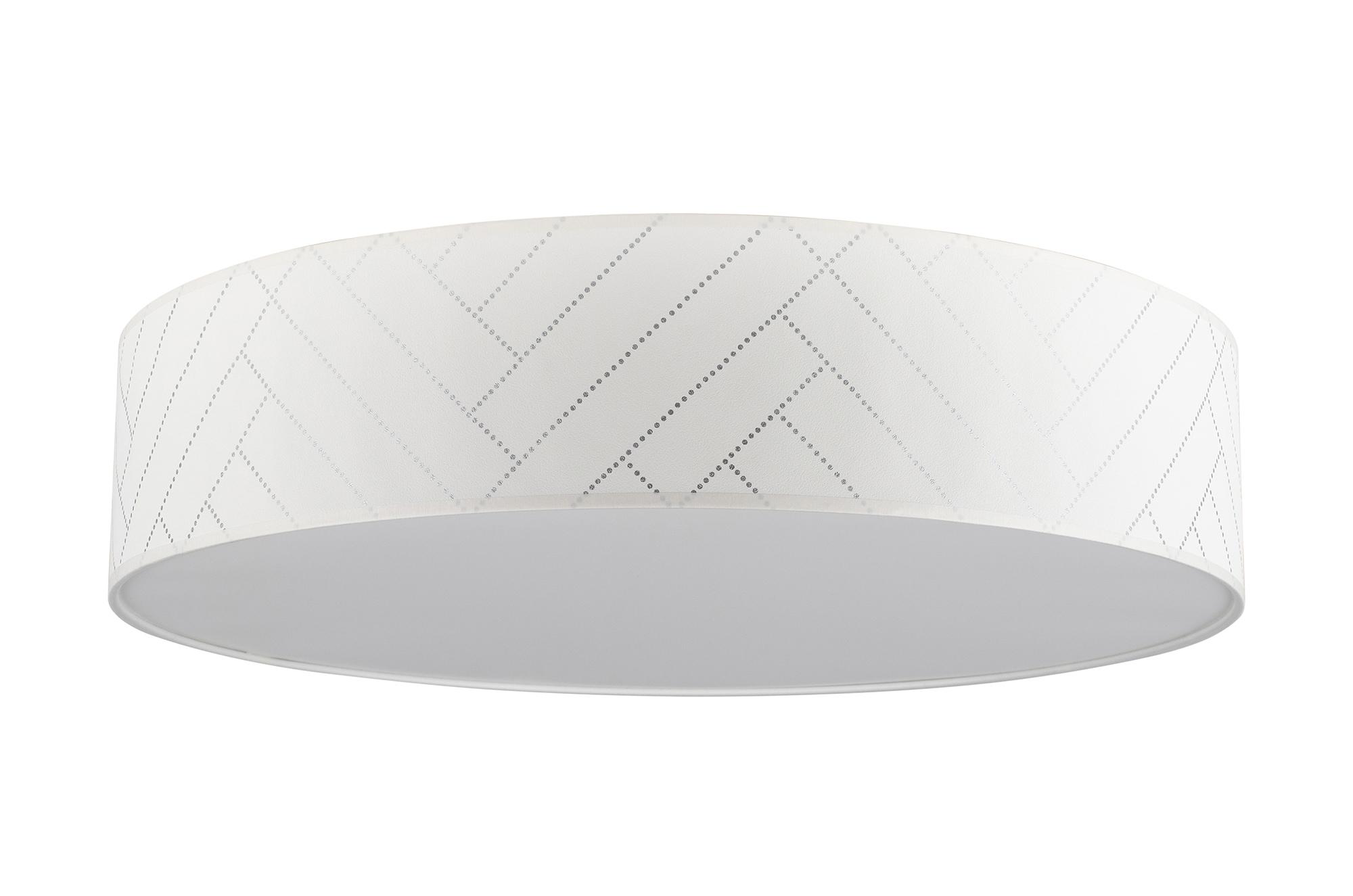 BRITOP LIGHTING Deckenleuchte PUNTO, E27, Lampenschirm befestigt an Magneten - einfache Montage und Reinigung, aus laminierter Tapete mit Blende, Passende LM E27 / exklusive, Made in Europe