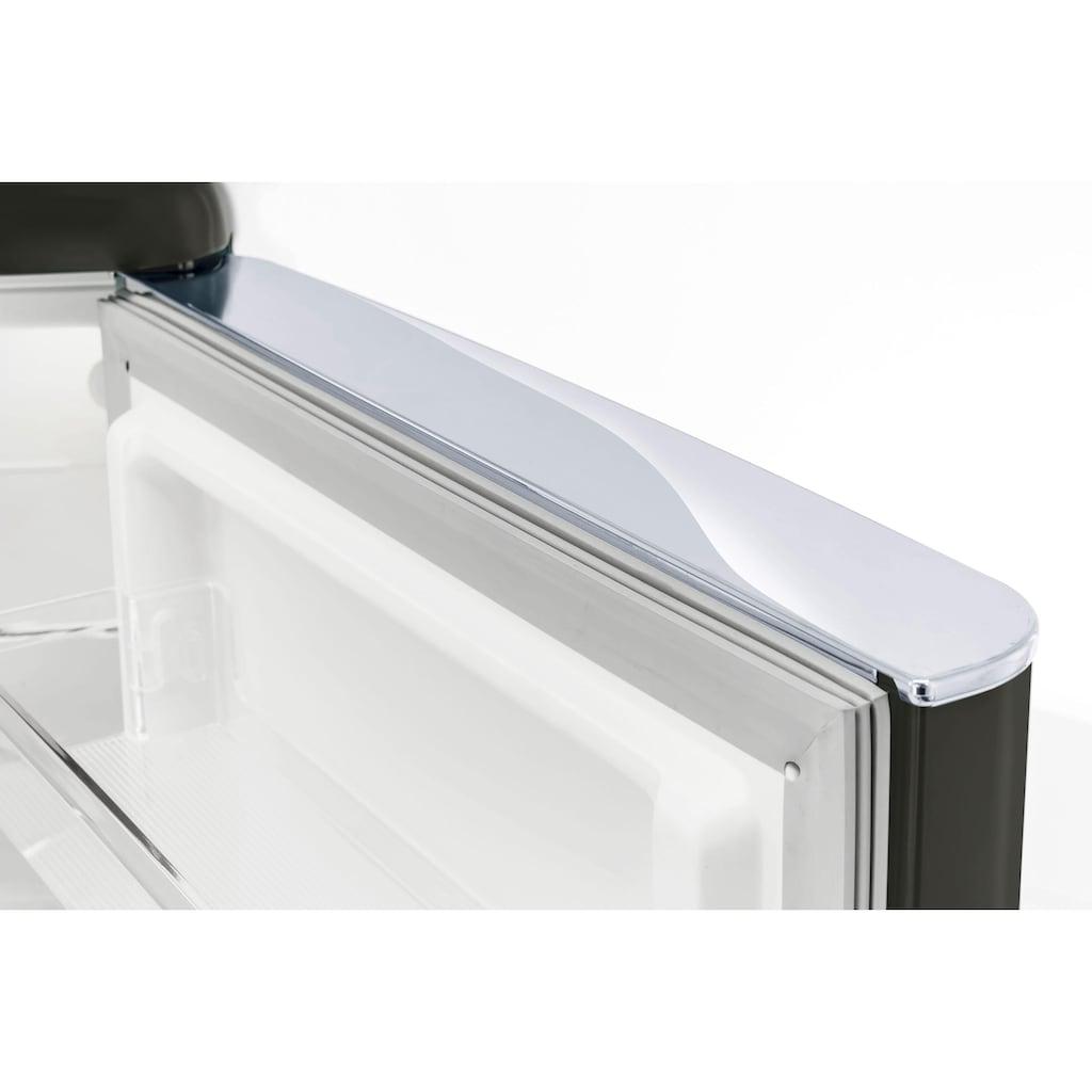 exquisit Kühl-/Gefrierkombination »RKGC 250/70-16 A++«, RKGC 250/70-16 A++ MS, 181 cm hoch, 55 cm breit, Retro