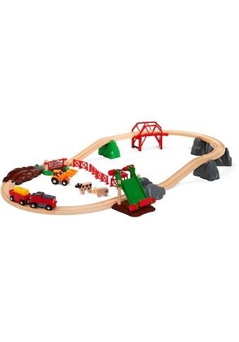 BRIO® Spielzeug-Eisenbahn »BRIO® Großes Bahn Bauernhof-Set«, FSC® - schützt Wald - weltweit kaufen