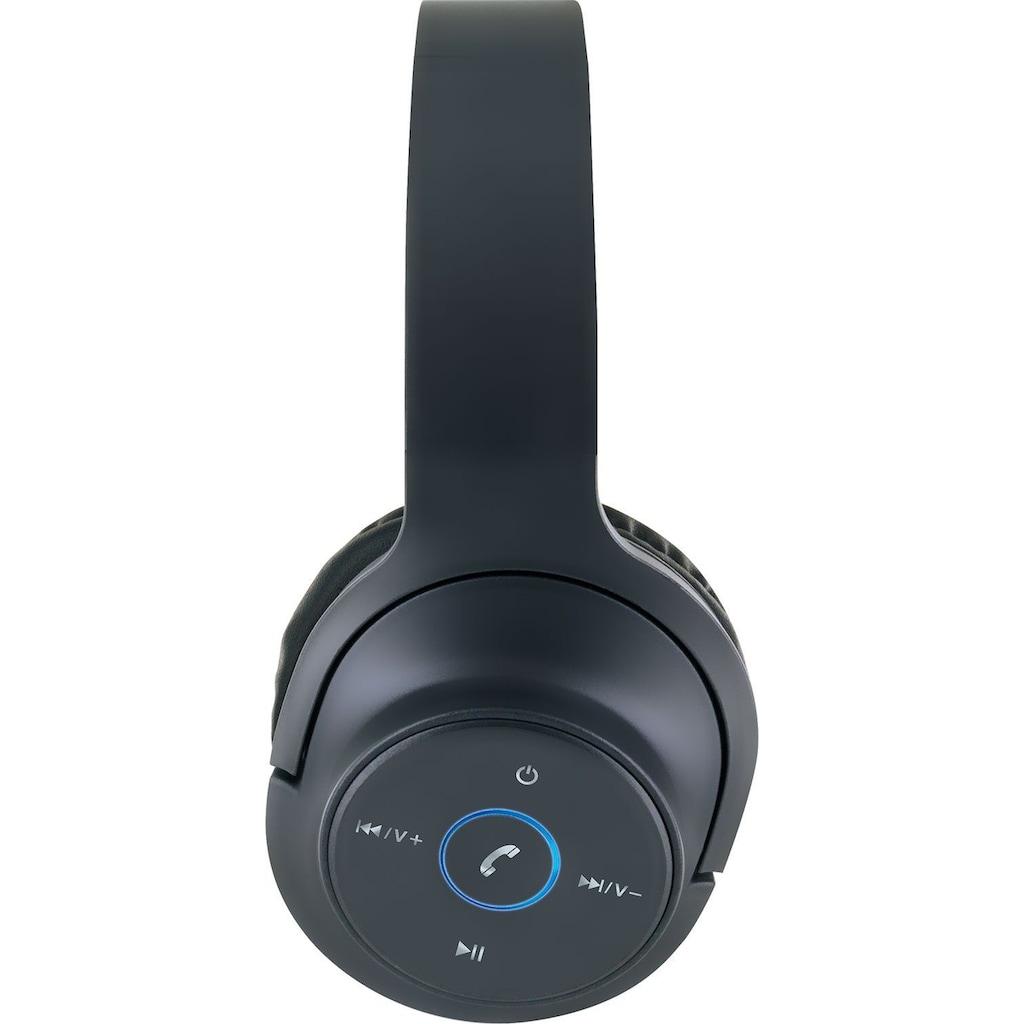 SCHWAIGER Bluetooth On-Ear-Kopfhörer mit Mikrofon und Fernbedienung »Headset Gaming«