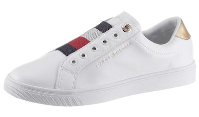 TOMMY HILFIGER Slip-On Sneaker »TH ELASTIC SLIP ON SNEAKER«, mit gestreiftem Gummizug kaufen