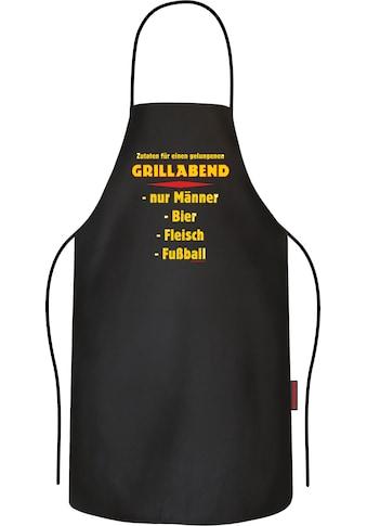 Rahmenlos Grillschürze mit coolem Grill-Druck kaufen