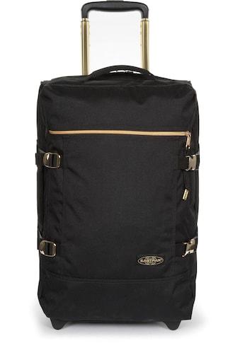 Eastpak Reisetasche »TRANVERZ S goldout black - gold« kaufen
