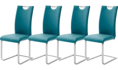 MCA furniture Freischwinger »Paulo«, 4er-Set, Stuhl belastbar bis 120 kg kaufen