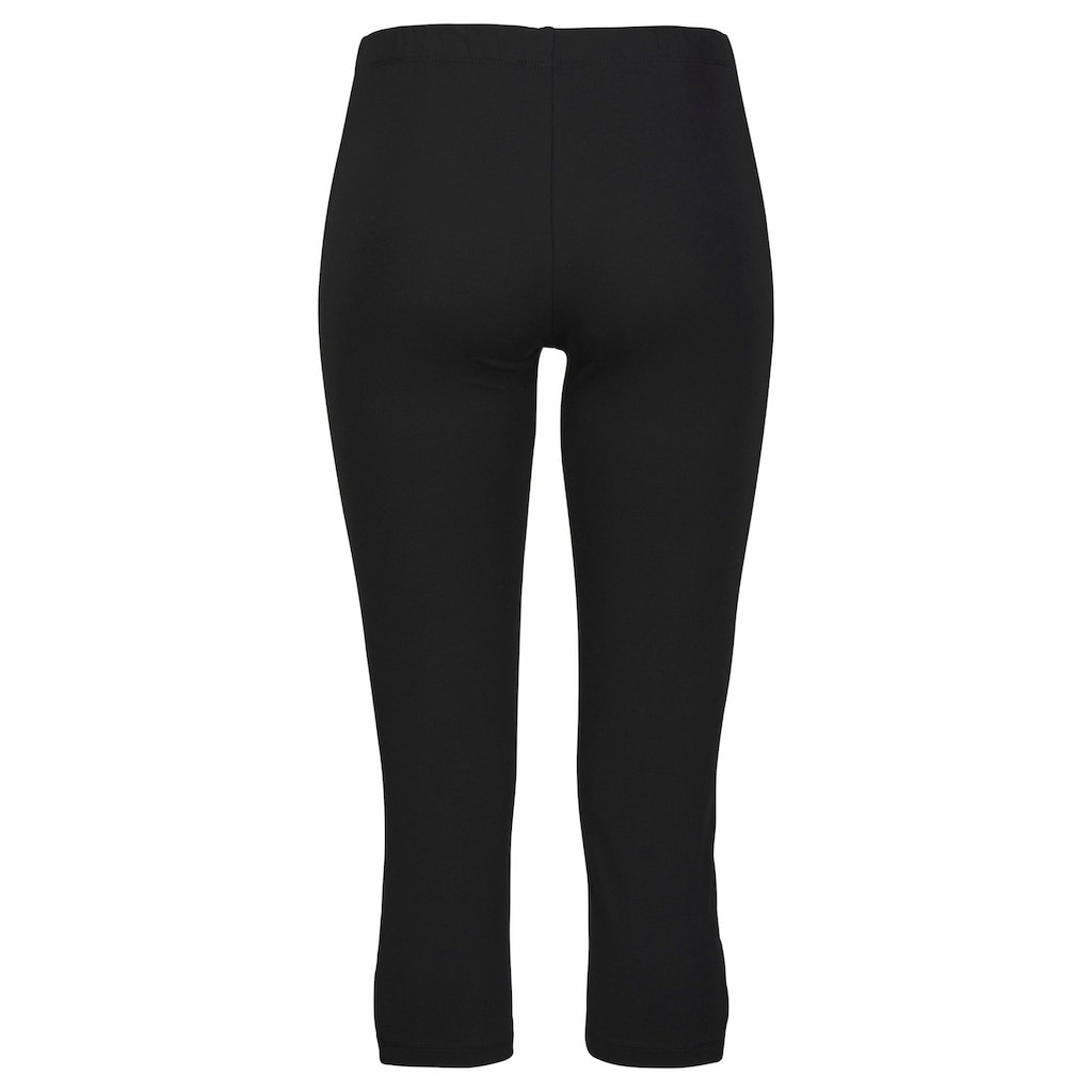 LASCANA Caprileggings, mit Cut-outs am Saum