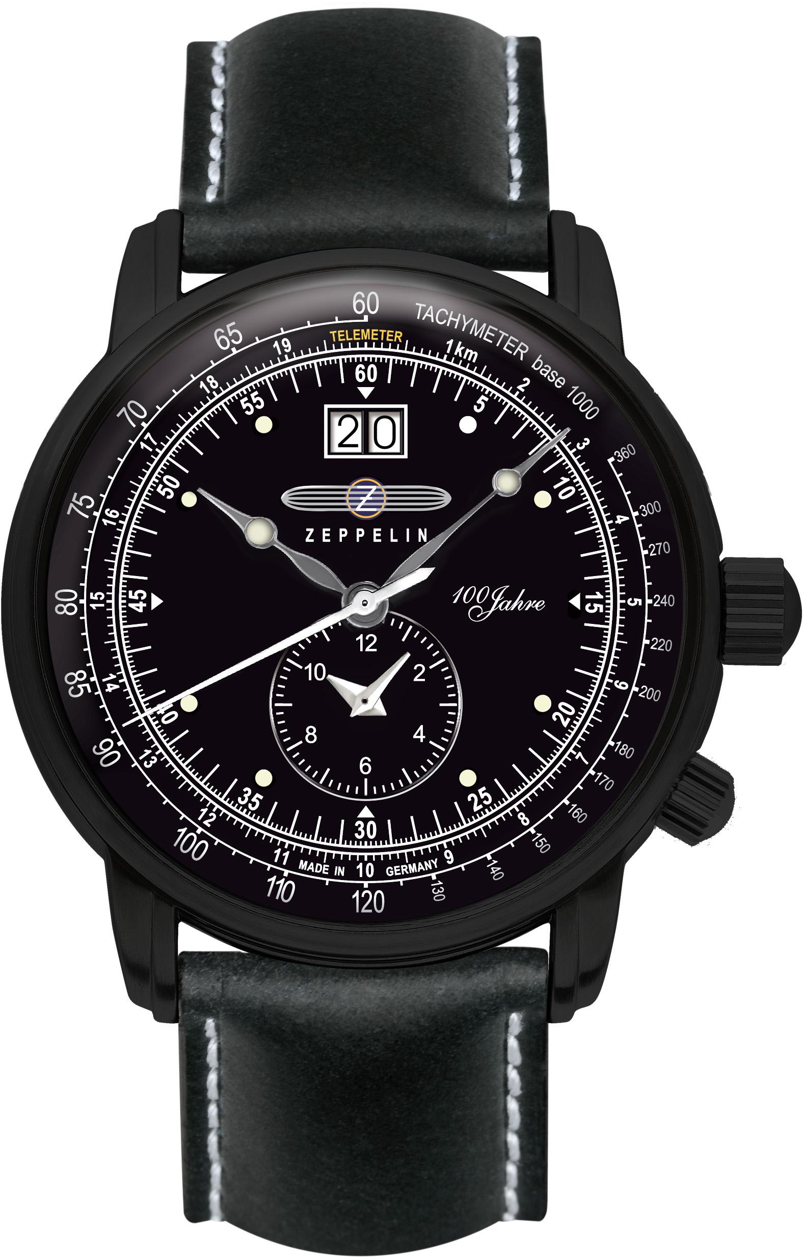zeppelin -  Quarzuhr Dual- Time, 7638-2