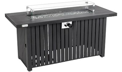 TEPRO Gas Feuerstelle »Topeka XL«, BxTxH: 137x56x63 cm kaufen